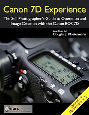 Canon 7D Experience book manual guide how to use learn tips tricks
