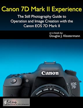 Canon 7D Mark II Experience book manual guide how to use learn tips tricks