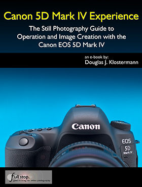 Canon 5D Mark IV book manual guide how to set up tips tricks menu autofocus quick start setting