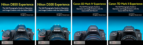 canon nikon and sony setup spreadsheets full stop books full